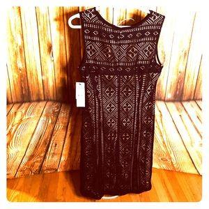 NWT black Leslie Fay dress size 8 US